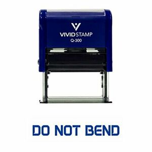 Do Not Bend Office Self-Inking Office Rubber Stamp