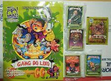 2005 Gang Do Lixo Full Set, Empty ALBUM & Full Pack Brazil Garbage Pail Kids GPK