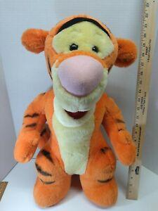 "LARGE BIG Mattel Winnie the Pooh TIGGER 21"" Plush Stuffed Animal TOY."
