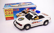 1991 VINTAGE POLICE CAR BATTERY OPERATED CREATOY TOY