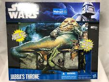 """Star Wars """"Jabba's Throne with Oola"""" Walmart Exclusive NIB"""