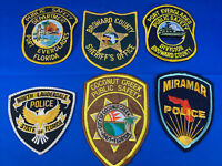 Various State Patches #21 Lot Of 6 Various Departments From United States
