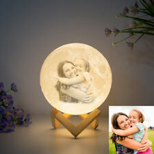 3D Printing Personalized Moon Lamp night lights kids Christmas gifts