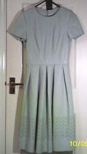 UNTOLD BNWT (RRP £130) Blue Faux Leather PU DRESS S uk6us2eu32 Chest c32in c81cm