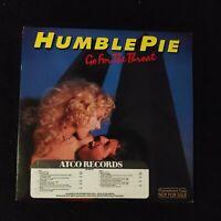 Humble Pie Go For The Throat Original PROMO Vinyl Record Album SD 38-131 1981 EX