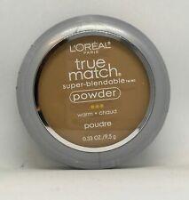 L'Oreal Paris True Match Super-Blendable Powder Makeup W7 Caramel Beige
