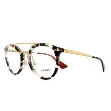 Prada Eyeglasses Frames PR15TV UAO1O1 White Havana 50mm Womens