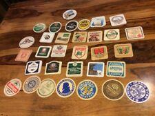 79 Vintage German Cardboard Beer Coasters Lowenbrau Spaten