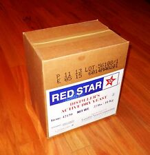DISTILLERS YEAST 22 lb FOIL PACKET RED STAR FOR BOURBON WHISKEY VODKA MOONSHINE