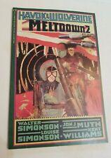 Havok and Wolverine Meltdown #2 (Dec 1988) Marvel Comics
