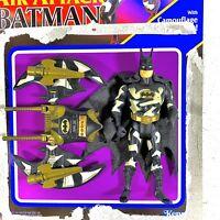 Kenner Loose Batman Returns Air Attack Batman & Accessories & Card