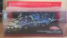 "DIE CAST "" ALPINE RENAULT A110 1600 - 1976 RALLY MONTE CARLO "" SCALA 1/43"