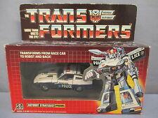 """Transformers G1 """"PROWL"""" Pre-Rub 100% Complete w/ Box Original 1984 Vintage"""