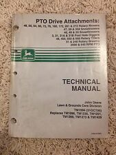John Deere Technical Manual for PTO Drive Attachments