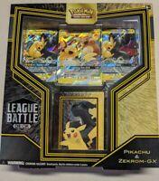 Pokemon TCG Battle League Decks: Pikachu & Zekrom GX