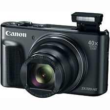 Canon PowerShot SX720 HS 20.3MP 40x Optical Zoom HD CMOS Digital Camera - Black