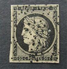 nystamps France Stamp # 3 Used $50   U18y2738