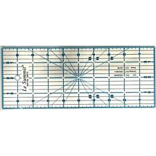 "Le Summit 4 Inch X 10 Inch Patchwork Quilting Ruler Clear Acrylic Ruler 4""X10"""