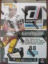 2 Factory Sealed Blaster Box Lot - 2016 Panini Donruss Football Cards