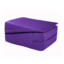 Purple Gymnastics Training Wedge Incline Mounting Yoga Block Vault Folding