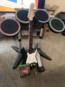 Xbox One Rock Band 4 Band In A Bundle Set Tested Working Excellent Condition