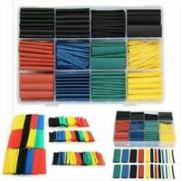 328x Assortment 2:1 Heat Shrink Wire Wrap Tubing Electrical Connection Cable US