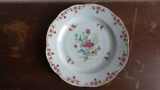 Antique chinese porcelain plate. XVIIIth. Assiette Chine. ....impact.........D