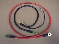 Mk1 Escort Rs2000 batería Cables Avo vivir y tierra conduce