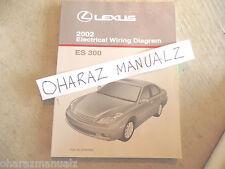 2002 LEXUS ES300 Electrical Wiring Diagram Service Manual OEM