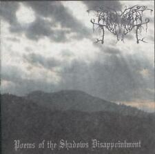 Managarm - Poems of the Shadows Disappointment CD 2009 depressive black metal