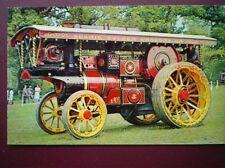 POSTCARD  BURRELL SHOWMAN ENGINE NO 3610 'WILLIAM V'