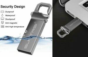 USB Flash Drive 64 128 16GB High Speed Metal Stick 32GB Pen Memory Capacity New