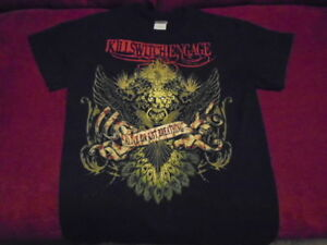 RARE Killswitch Engage TOUR SHIRT small METAL 2012 U.S. Alive or Just Breathing