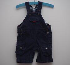 JoJo Maman Bebe dungarees age 3-6 months blue cord corduroy baby boys