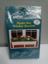 Majestic Planter Box Window Bracket- 3pc