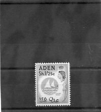 Aden Sc 56(Sg 64)*F-Vf Nh 1956 1S25c Blue & Black $48