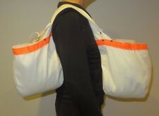 DOUBLE CANVAS NEWSPAPER CARRIER MESSENGER MAIL BAG HUGE
