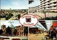 Holland Niederlande Groeten uit ENSCHEDE color Mehrbild-AK Multi-View Postcard