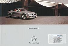 Mercedes A-Klasse Prospekt 2005 6//05 25.4.05 Autoprospekt brochure Katalog Auto