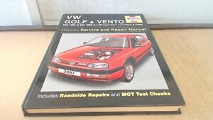 VW Golf and Vento Petrol and Diesel (Feb 92 - Mar 98) Haynes Repa