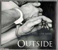 GEORGE MICHAEL - OUTSIDE THE MIXES - CD SINGOLO 3 TRACKS NUOVO NON SIGILLATO