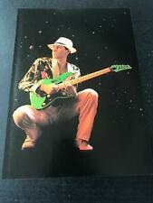 1988 Vintage 8X11 Print Ad Ibanez Guitars With Steve Vai Playing Jem777 Green