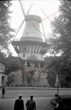 NEGATIV - 30iger Jahre Art Deco Windmühle Mill windmill