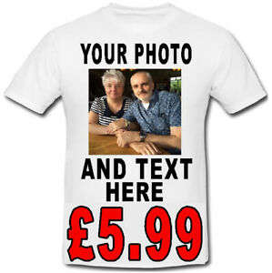CUSTOM PERSONALISED T SHIRT STAG DO HEN PARTY YOUR TEXT PHOTO FUNNY BIRTHDAY
