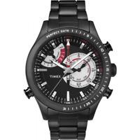 Orologio TIMEX mod. INTELLIGENT QUARZ ref. TW2P72800 Uomo chrono nero INDIGLO