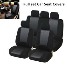 Full Set Washable Car Seat Cover Cushion Jacquard  Polyester Fabric Protector