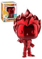 Funko Pop! Dragon Ball Z:Super Saiyan Vegeta Red Chrome (SDCC SHARED EXCLUSIVE)