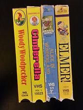 VHS Children Cartoon Classics in color (1988-1991) lot 4