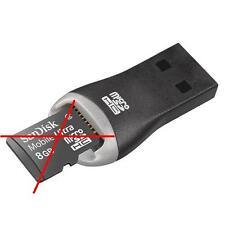Genuine/Original SanDisk MicroSD/MicroSDHC USB Computer PC Memory Card Read