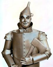 """JACK HALEY THE TIN MAN THE WIZARD OF OZ 1939 8x10"""" HAND COLOR TINTED PHOTO"""